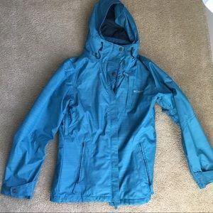 Columbia Women's interchange jacket, slope ready!