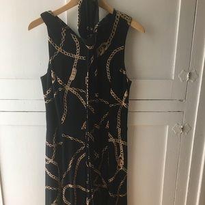 Ralph Lauren chain print dress