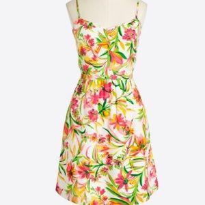 NWT Pink Floral J Crew Dress