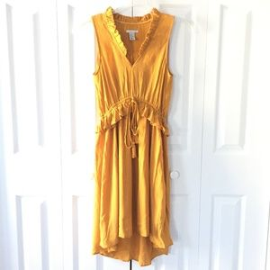 Womens H&M yellow dress
