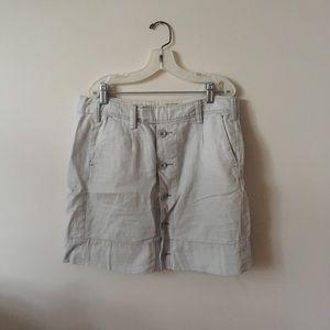 Anthropologie Paperboy Skirt