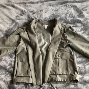 Nordstrom Halogen Women's S Soft Collarless Jacket