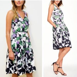 Talbots The Oprah Magazine collection floral dress
