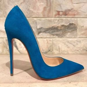Christian Louboutin So Kate 120 Blue Egyptian