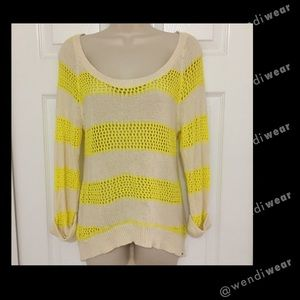 💋 Roxy knitted HiLow striped sweater💋