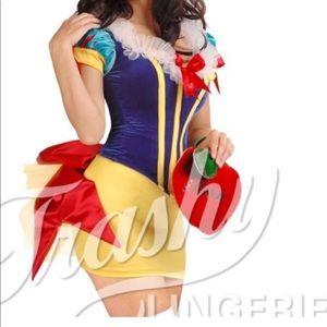"""Trashy Lingerie Snow White Costume """"Ho White"""""""