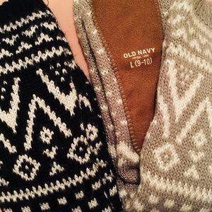 Old Navy Winter Socks