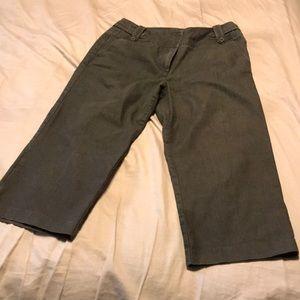 Brown Capri pants