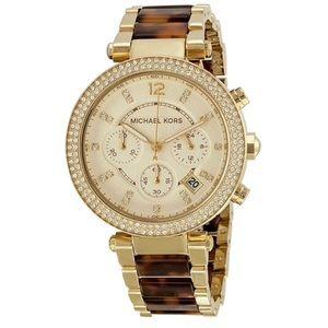 Michael Kors gold -finish watch