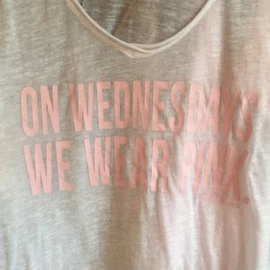 On Wednesday's we wear pink - mean girls shirt