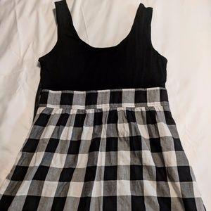 Twenty One Black and White Dress Size L