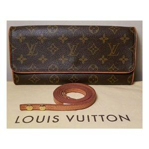 Authentic Louis Vuitton Pochette Twin Gm