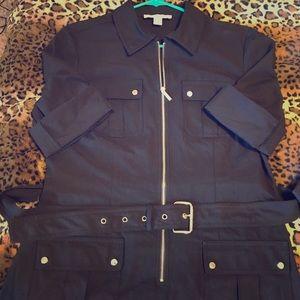Michael Kora black dress Large - NWOT