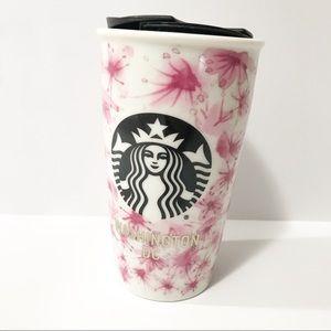 New in Box Starbucks Traveler Mug Washington DC
