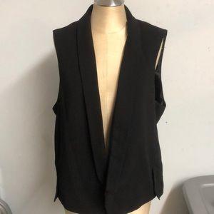 Worthington  black vest sz L NWT