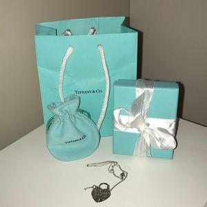 Tiffany & Co. Retired Filigree Necklace
