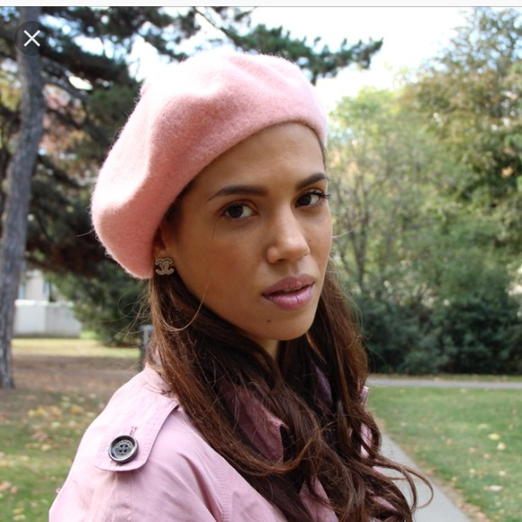1d862935f2dec H M Accessories - H M pink French beret