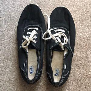 Black white keds size 8.5