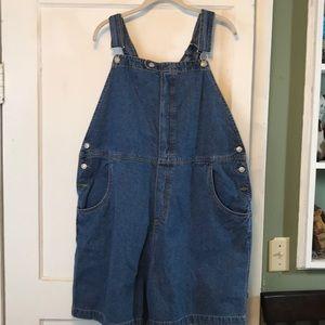 Kiko Mo denim short overalls