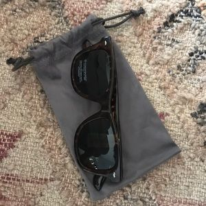 NWT J.Crew Unisex Wayfarer Sunglasses