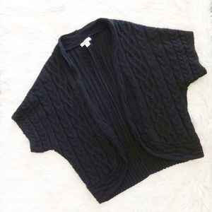 Coldwater Creek Cable Knit Cardigan