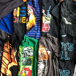 Other - Lot of 11 shirts boys 8/10