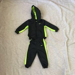 Nike Dri Fit sweat suit 18 months