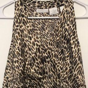 Worthington Animal Print Cami Size 10