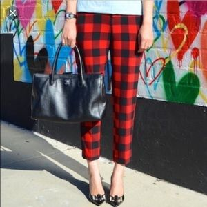 Old Navy holiday plaid pants