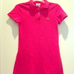 Lacoste Dress! Classic Style!