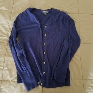 Eddie Bauer Women's Blue/Purple Cardigan