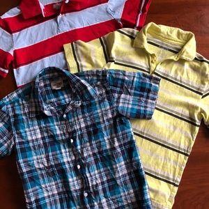 Other - Lot 3 boys shirts size 8/10/12