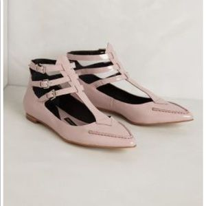 Anthropologie - Pied Juste - Grace Gladiator Flats