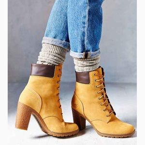 """Timberland Women's Glancy 6"""" Lace-Up Boots"""