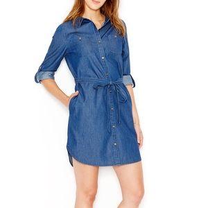 [Maison Jules] Denim shirt dress