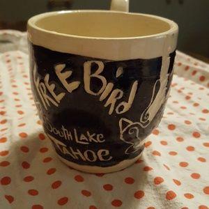Vintage Free Bird Lake Tahoe Mug!