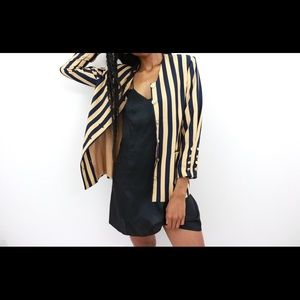Striped Vintage Blazer
