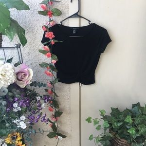 Crop Top with tied front
