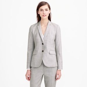 J.Crew 1035 Two-Button Jacket In Super 120s Wool