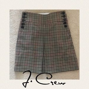 J.Crew A-line pleated wool skirt 4