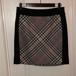 WHBM Plaid Skirt