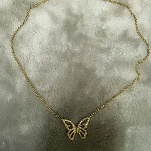 Butterfly with cz in it