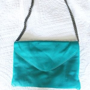 J Crew leather purse