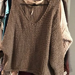 Free People NWOT knit sweater