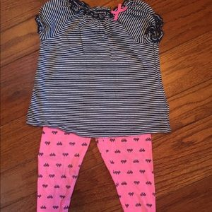 Carters girl's outfit