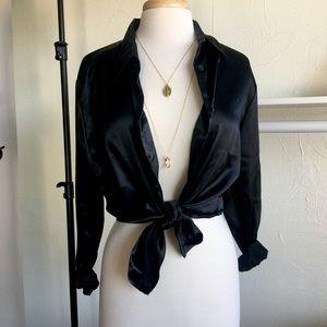 Tops - Silk Style Blouse