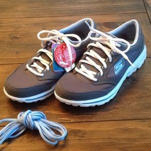 Skechers Lace Up Go Walk Sneakers