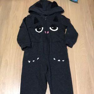 Adorable cat jumpsuit