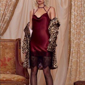 Nasty Gal x Courtney Love Night Moves Slip Dress