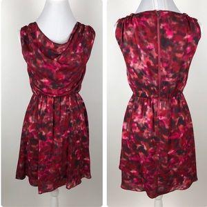 Alice Olivia Silk Dress Womens Size XS Cowl Neck